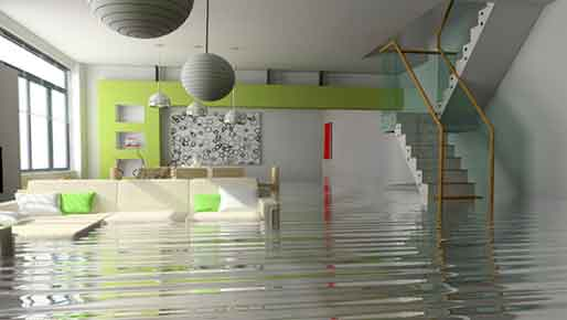 alarm monitoring for water damage protection via our alarm central station - Lanaudiere Security Systems Inc.